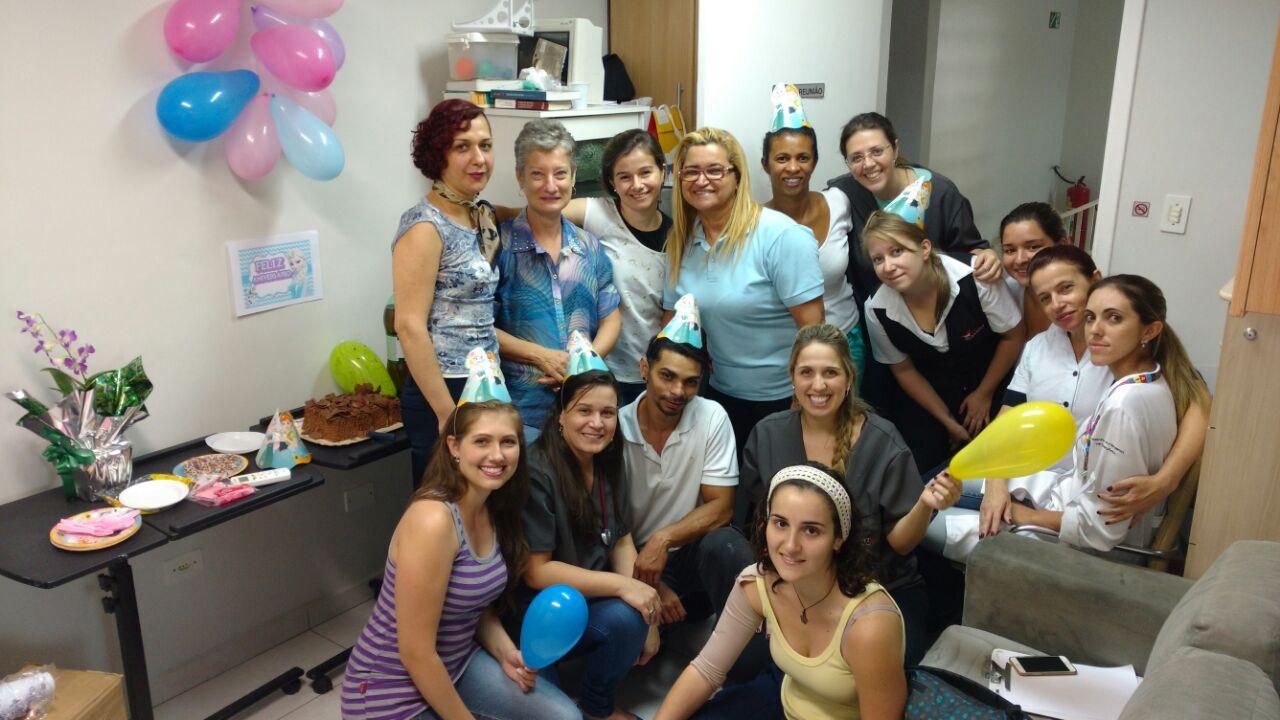 19/04: Equipe Vet Support com a Dra. Lais Taveiros