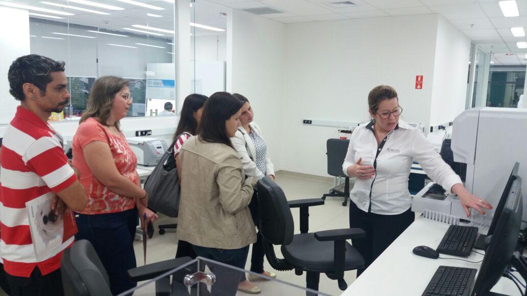 visita da equipe da vet support à sede da idexx em sao paulo para treinamento